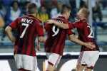 AC Milan's Torres celebrates after scoring against Empoli during their Italian Serie A soccer match in Empoli