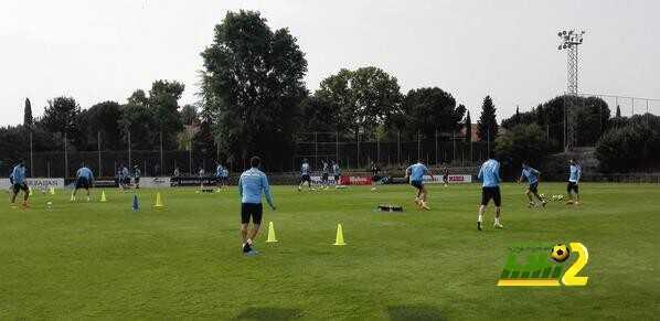 اتليتكو مدريد يواصل استعداداته لمواجهة