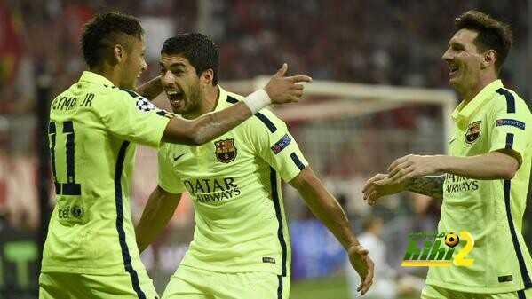 """صورة """" الثلاثي الهجومي لبرشلونة"""