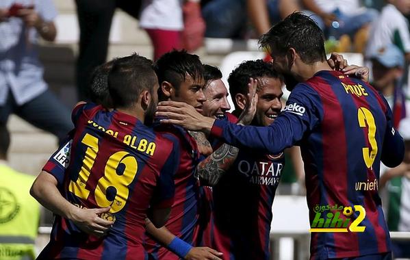 قائمة صانعي أهداف برشلونة للموسم