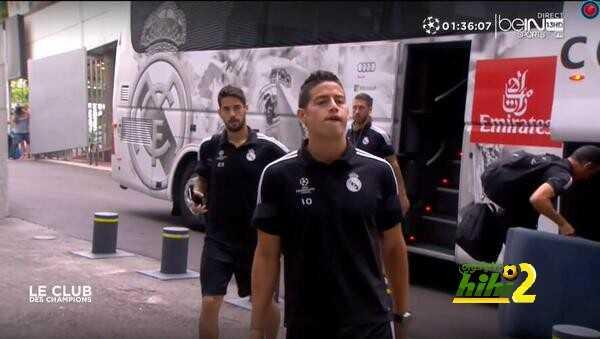 نجوم ريال مدريد أمام البيرنابيو