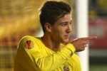 Villarreals Luciano Vietto erzielte das 1:0 gegen die Gladbacher. Foto: Ina Fassbender