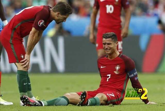 بكاء كريستيانو رونالدو بعد تعرضه للاصابة coobra.net