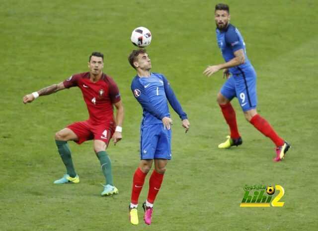 فرنسا تنهي الشوط الاول متعادلة مع البرتغال coobra.net