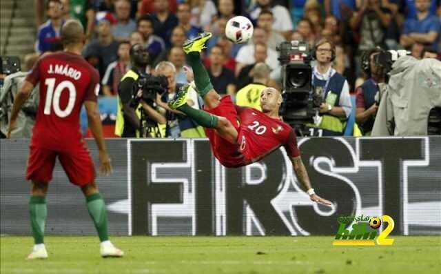 مباراة فرنسا والبرتغال تدخل تاريخ اليورو من اوسع الابواب coobra.net