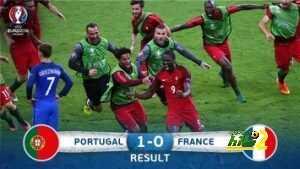 تصريحات أبرز نجوم المباراة النهائية من يورو 2016 coobra.net