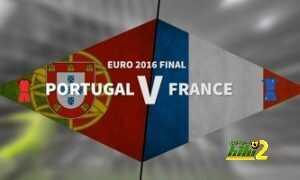 أبرز الأرقام التي شهدتها المباراة النهائية من يورو 2016 coobra.net