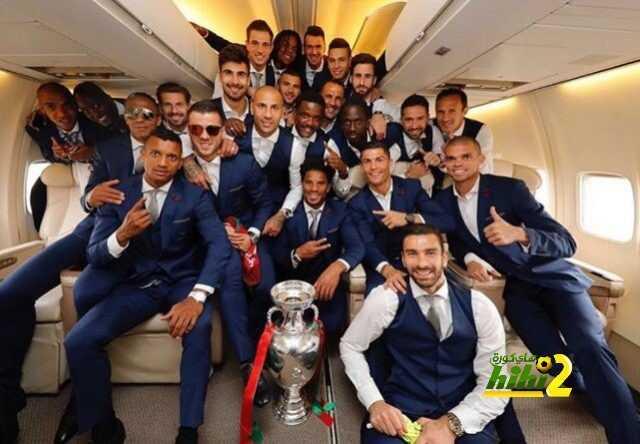صورة : منتخب البرتغال في طريقه لمعقله رفقة كأس الأمم الآوروبية coobra.net