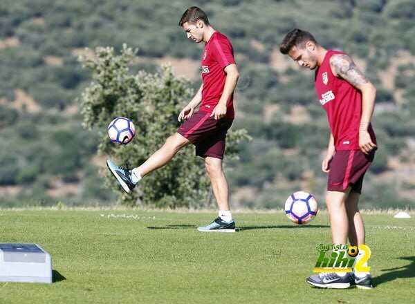 صور : اتليتكو مدريد يواصل استعداداته للموسم القادم coobra.net