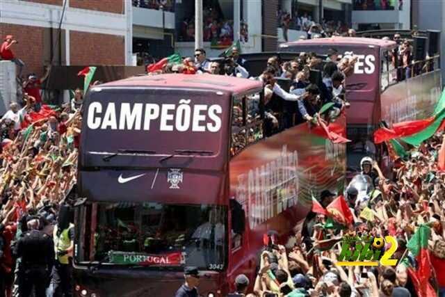 صورة : احتفالات هائلة لمنتخب البرتغال في معقله coobra.net