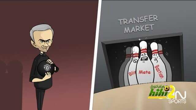 كاريكاتير الـ beINSPORTS حول اختيارات مورينيو للراحلين عن اليونايتد coobra.net