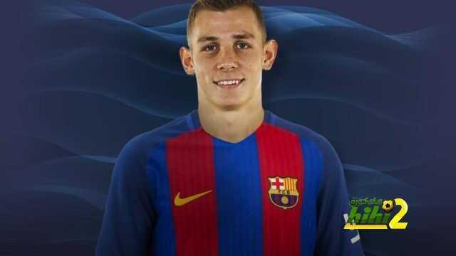 رسميا : لوكاس دين لاعبا في برشلونة لخمسة مواسم coobra.net