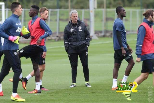 صور : أول حصة تدريبية لليونايتد في الموسم الجديد تحت قيادة مورينيو coobra.net