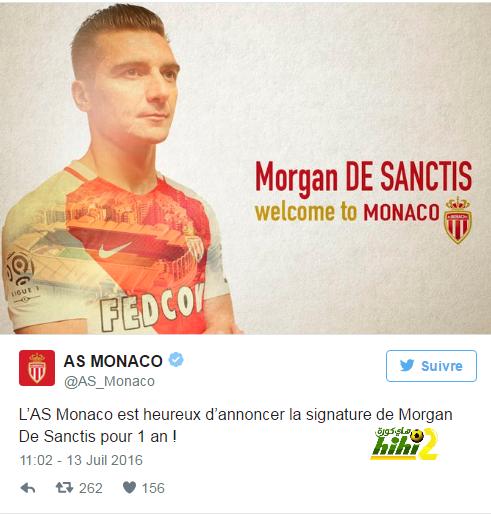 رسميا : نادي موناكو يتعاقد مع حارس روما الإيطالي ! coobra.net