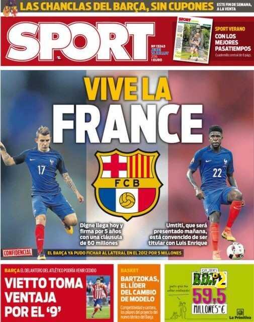 السبورت ? تحيا فرنسا ? coobra.net