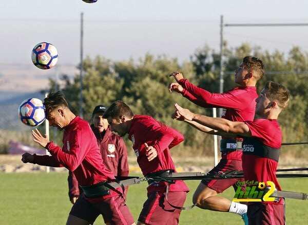 صور : اتليتكو مدريد يواصل الاستعداد للموسم الجديد coobra.net