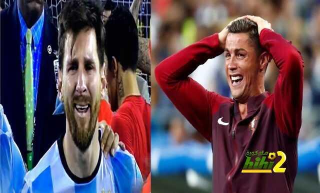 فيديو :عندما يبكي أساطير كرة القدم يكلمهم الجلد المدور.. كريستيانو رونالدو وميسي! coobra.net