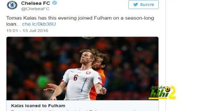 رسميا : لاعب تشيلسي يرحل إلى فولهام على سبيل الإعارة ! coobra.net