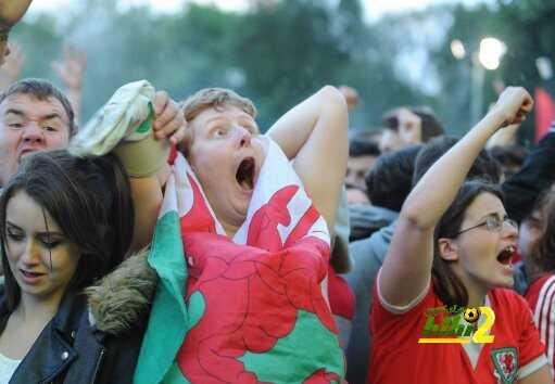 أجمل 10 صور في اليورو توضح شغف المشجعين بكرة القدم coobra.net