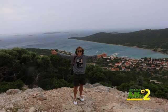 صورة : مودريتش يستمتع بقضاء العطلة في كرواتيا coobra.net