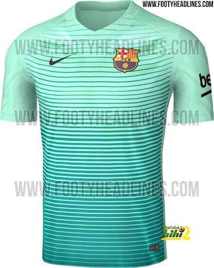 صورة : القميص الثالث لبرشلونة في الموسم المقبل coobra.net
