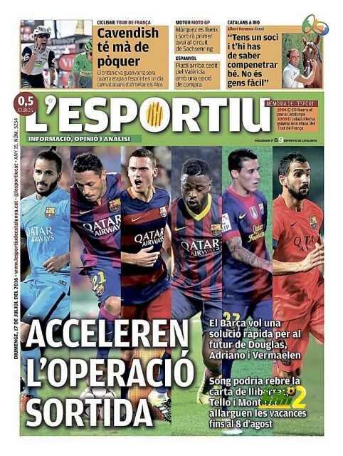 برشلونة يفتح باب الرحيل الكبير للسداسي .! coobra.net
