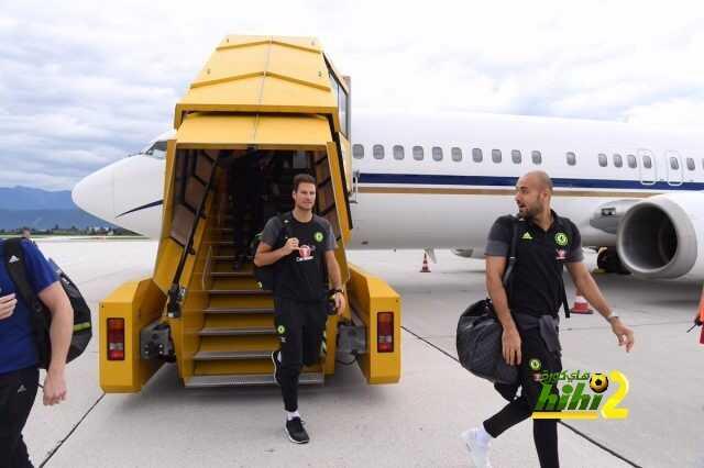 صورة : تشيلسي يغادر إلى فيلدين coobra.net