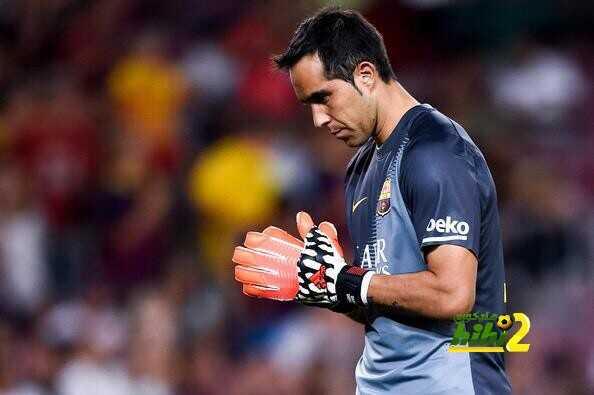 الآس ? برافو يفكر في الرحيل عن برشلونة ? coobra.net