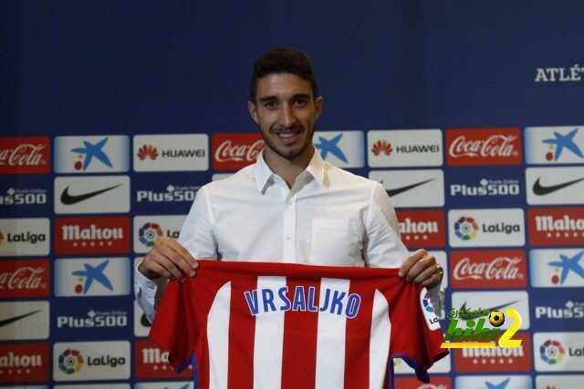 صورة من تقديم فيرسالكو لاعبا في اتليتكو مدريد coobra.net