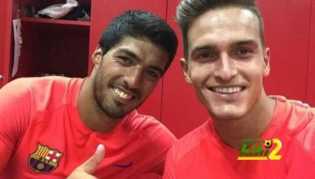 صورة : الثنائي سواريز في غرفة ملابس برشلونة coobra.net