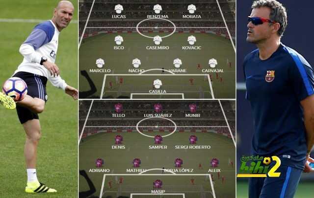 صورة : كيف سيكون شكل الكلاسيكو لو تقابلا ريال مدريد وبرشلونة اليوم ؟ coobra.net