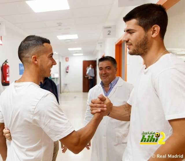 صور : موراتا ولوكاس فاسكيز يجتازان الفحص الطبي بنجاح ! coobra.net
