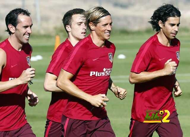 صور من استعدادات اتليتكو مدريد للموسم الجديد coobra.net
