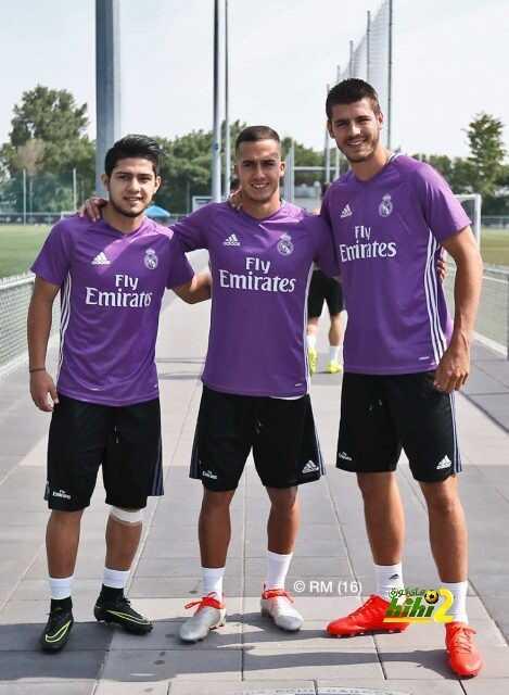 صور : ريال مدريد يواصل الإستعداد للموسم الجديد بحضور موراتا وفاسكيز ودياز coobra.net