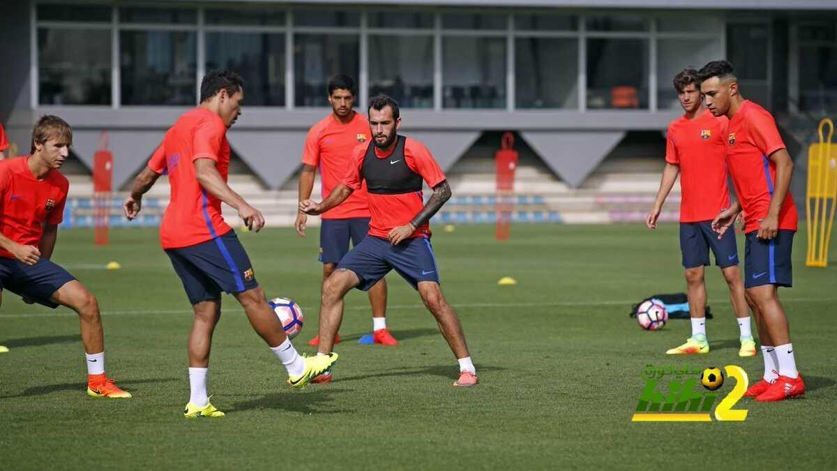 صور : اجواء رائعة في تدريبات برشلونة اليوم coobra.net
