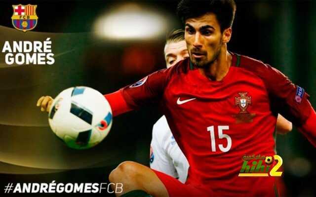 صورة : أندريه غوميز يصبح سابع برتغالي في تاريخ برشلونة ! coobra.net