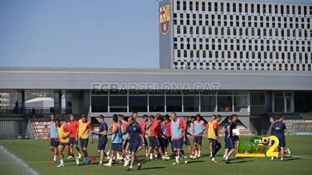 صور : برشلونة يواصل استعداداته للموسم الجديد coobra.net