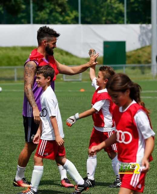 صور : ريال مدريد يشارك في مباراة ترفيهية مع الأطفال من تنظيم شركة أودي ! coobra.net