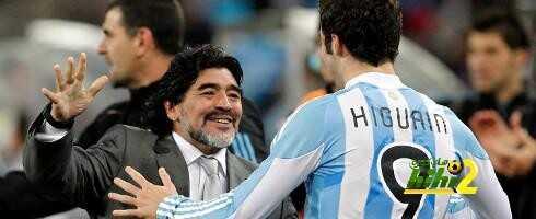 مارادونا : لايمكننا إلقاء اللوم على هيغواين لانتقاله إلى يوفينتوس coobra.net