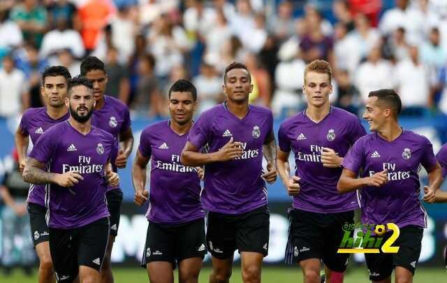 صور : ريال مدريد يستعد لمواجهة باريس سان جيرمان coobra.net