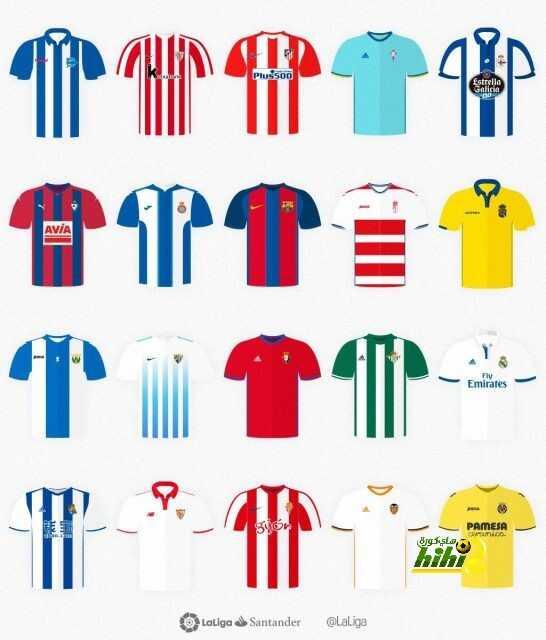 صورة : قمصان فرق الليجا للموسم المقبل coobra.net
