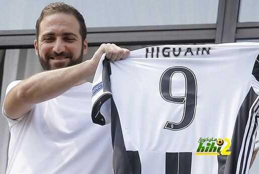 صورة : هيجواين يكشف عن قميصه رفقة اليوفينتوس coobra.net