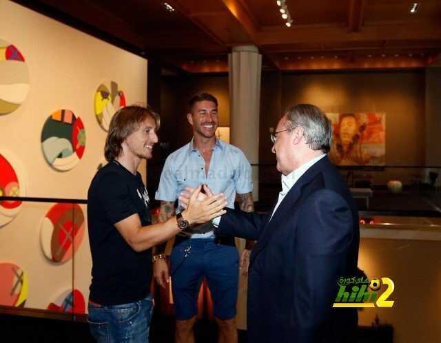صور : هكذا تم إستقبال راموس، مودريتش وخاميس من طرف الرئيس والزملاء ! coobra.net