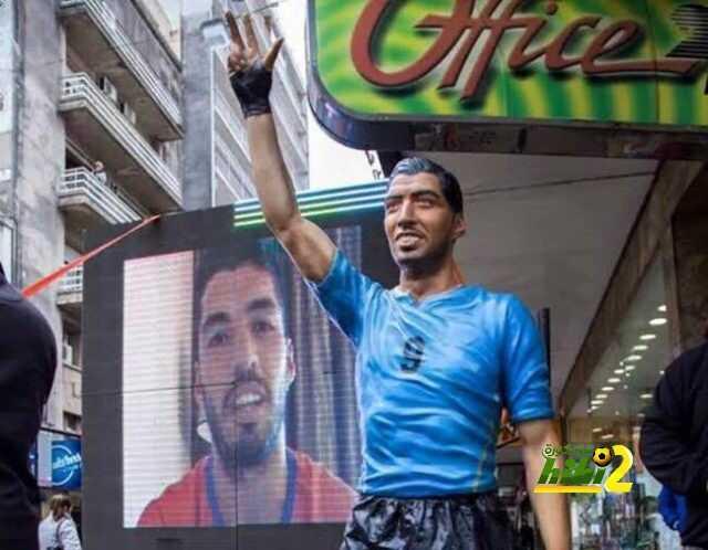 صورة : تمثال سواريز في الآوروجواي coobra.net