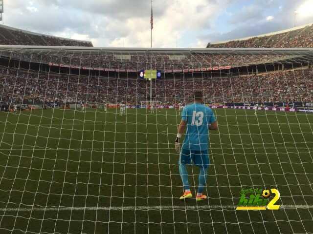 فيديو : هكذا تدرب لاعبو ريال مدريد على المرمى قبل إنطلاق المباراة ! coobra.net