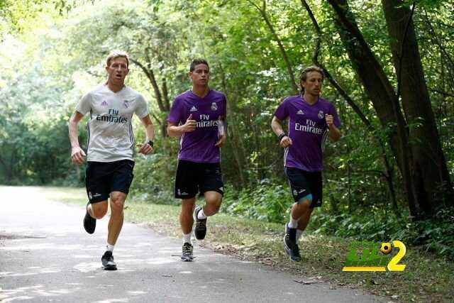 صور : التدريبات الخاصة مستمرة لثلاثي ريال مدريد !! coobra.net