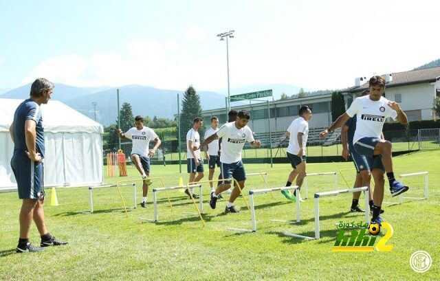 صور : تدريبات انتر ميلان الاخيرة قبل مباراة بايرن ميونخ coobra.net