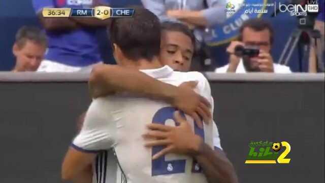 ريال مدريد ينهي الشوط الاول متقدماً على تشيلسي coobra.net