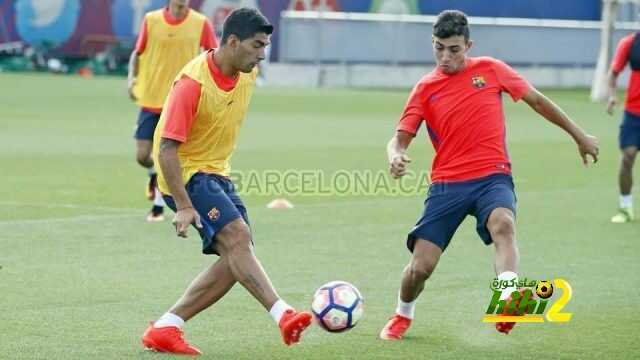 صور من أخر استعدادات برشلونة لمواجهة ليستر سيتي coobra.net