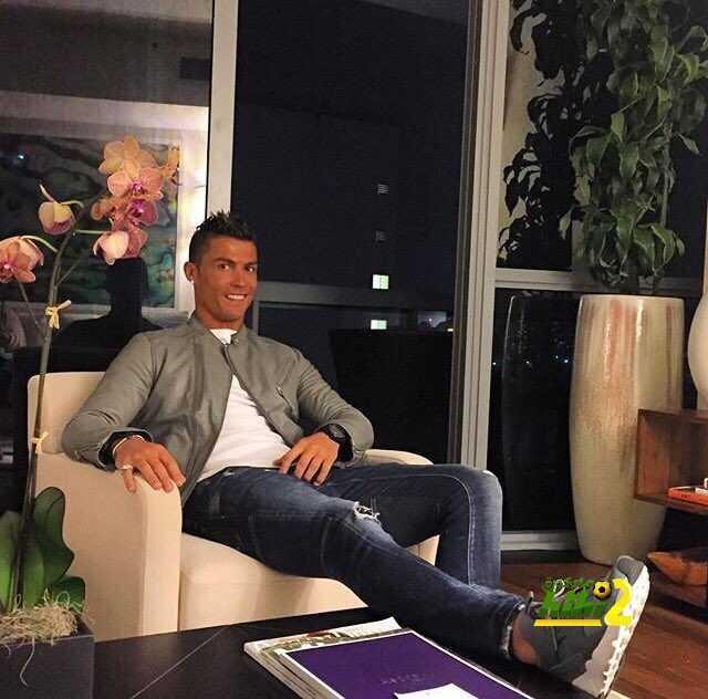 صورة : رونالدو في حالة معنوية مرتفعة قبل انطلاق الموسم الجديد coobra.net